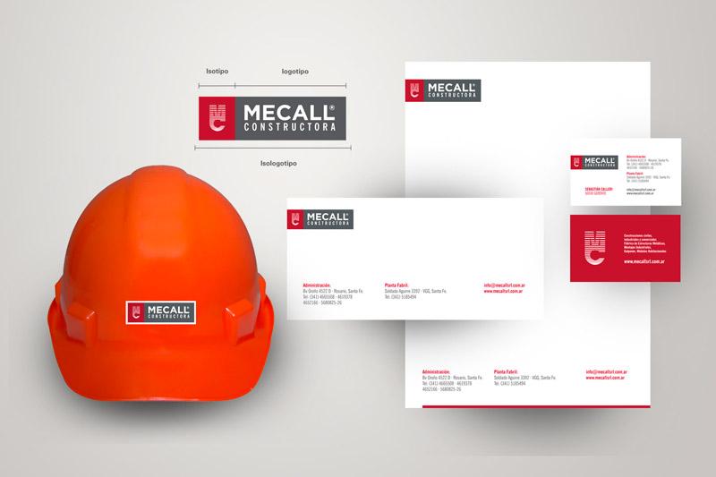 Mecall (Identidad Corporativa)